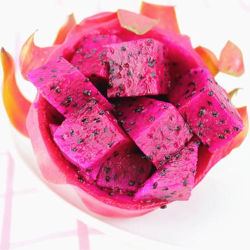 红心火龙果,娇艳欲滴,细腻甜细腻甜细腻甜!图片